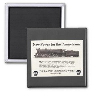 Poder para el ferrocarril 1926 de Pennsylvania Imán Para Frigorífico