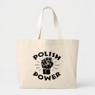 Poder polaco bolsas de mano