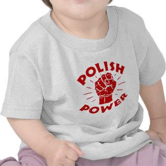 Poder polaco camiseta
