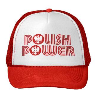 Poder polaco gorras