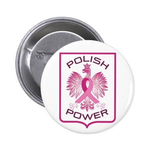 Poder polaco pin