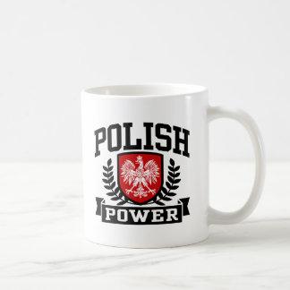 Poder polaco taza