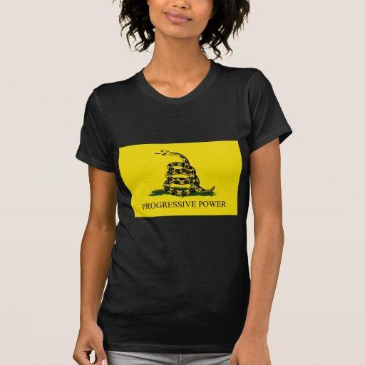 Poder progresivo camiseta