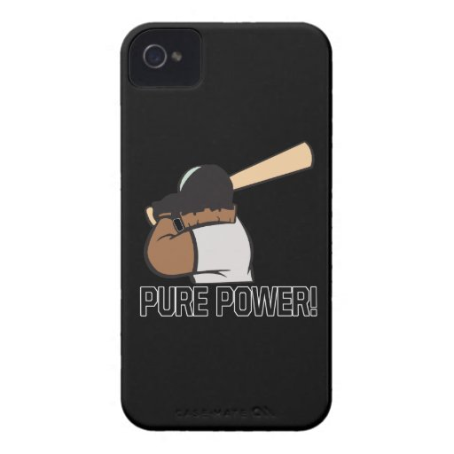 Poder puro iPhone 4 Case-Mate carcasa