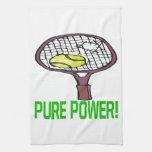 Poder puro toalla de cocina