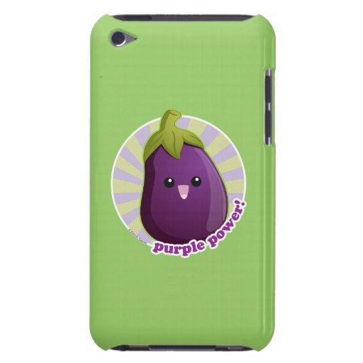 ¡Poder púrpura! iPod Touch Case-Mate Carcasas