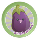 ¡Poder púrpura! Plato