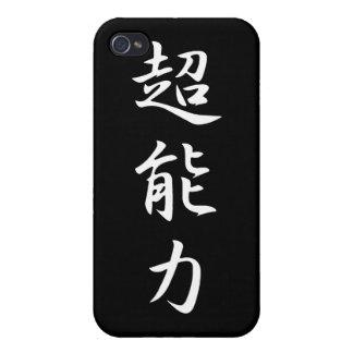Poder sobrenatural - Chounouryoku iPhone 4 Fundas