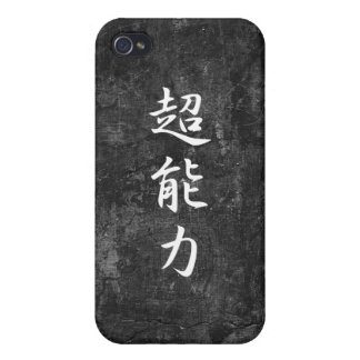 Poder sobrenatural - Chounouryoku iPhone 4 Protectores