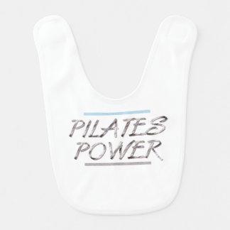 Poder SUPERIOR de Pilates Baberos Para Bebé