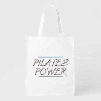 Poder SUPERIOR de Pilates Bolsas Reutilizables