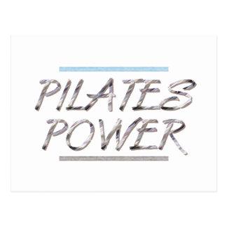 Poder SUPERIOR de Pilates Postales