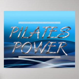 Poder SUPERIOR de Pilates Póster