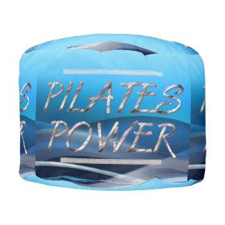 Poder SUPERIOR de Pilates Puf Redondo