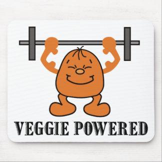 Poder vegetariano del vegano tapete de ratón