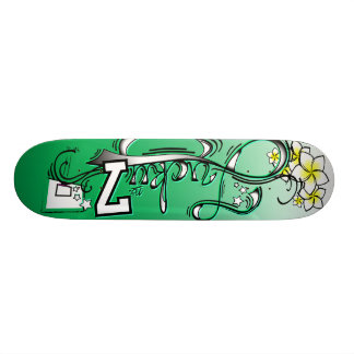 Poder verde de no. 7 afortunados patín