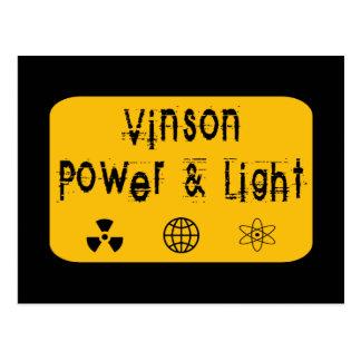 Poder y luz, oro de Vinson Postal