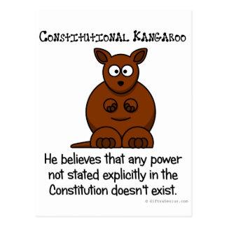 Poderes no delegados por la constitución postal
