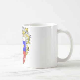 Podesta Coat of Arms (Mantled) Coffee Mugs