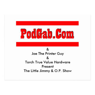 PodGab Products Post Cards