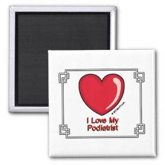 Podiatrist 2 Inch Square Magnet
