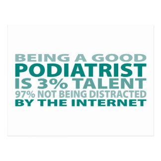 Podiatrist 3% Talent Postcard