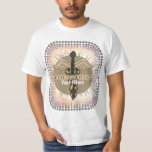Podiatrist Caduceus t-shirt