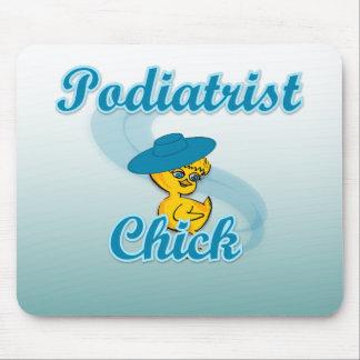 Podiatrist Chick #3 Mouse Pads