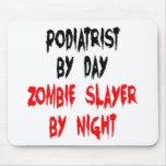 Podiatrist del asesino del zombi tapetes de ratones