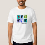 Podiatrist Gifts Popart Design of Feet T-shirt