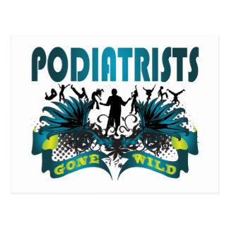 Podiatrists Gone Wild Postcard