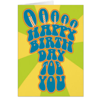 Podiatry Birthday Card