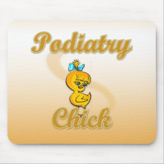 Podiatry Chick Mouse Pads