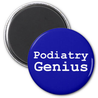 Podiatry Genius Gifts 2 Inch Round Magnet