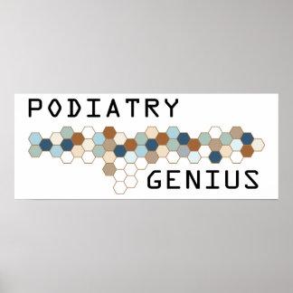 Podiatry Genius Poster