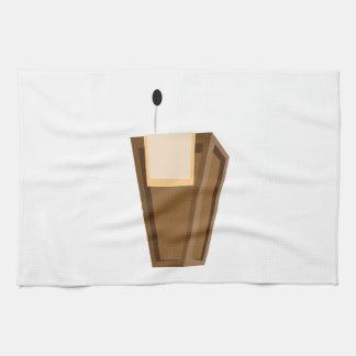 Podio de discurso toallas de cocina