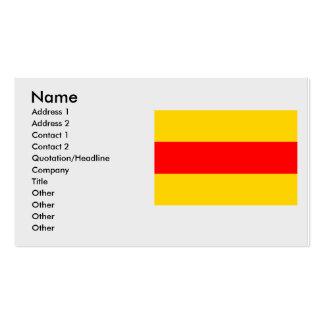 Podivin, Czech Business Card