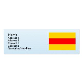 Podivin, Czech Mini Business Card