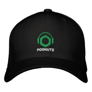 Podnutz Embroidered Hat Big Logo (White Letters)