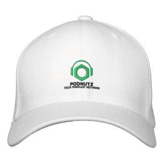 Podnutz Embroidered Hat (Black Letters)