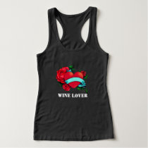 podpilots.com WINE LOVER T-SHIRT WITH TAT ART