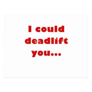 Podría Deadlift usted Tarjetas Postales