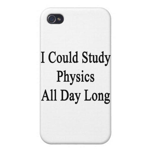 Podría estudiar la física todo el día iPhone 4 cobertura