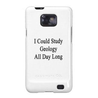 Podría estudiar la geología todo el día samsung galaxy s2 funda