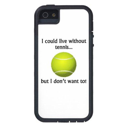 Podría vivir sin tenis iPhone 5 funda
