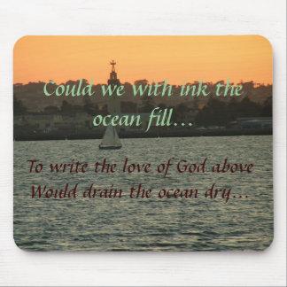 Podríamos el terraplén del océano… tapete de raton