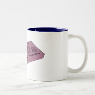 Pods as Po Polonium and Ds Darmstadtium Two-Tone Coffee Mug