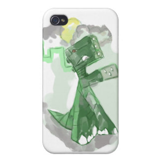 podzilla 3.0, OOHH NOoo its PODZILLA! iPhone 4/4S Cover