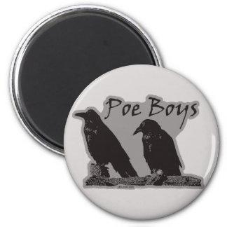 Poe Boys 2 Inch Round Magnet