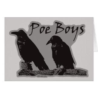 Poe Boys Cards